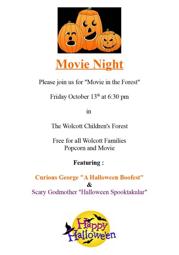 Halloween Movie night 2017