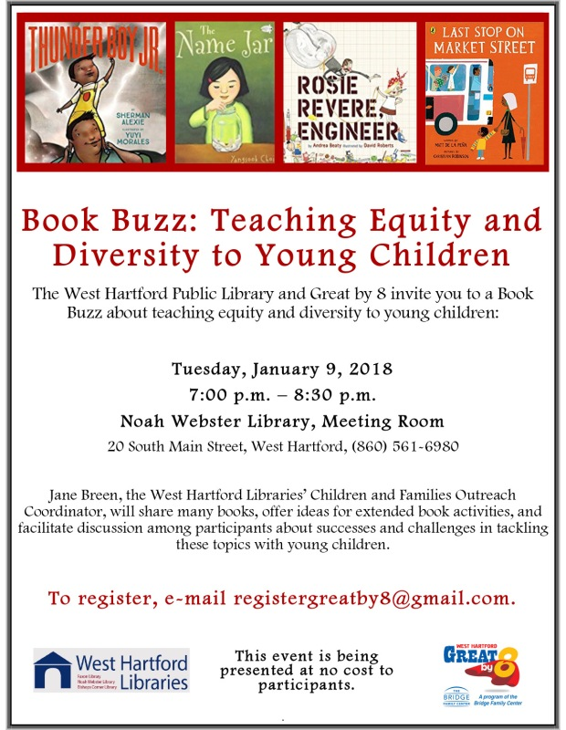 Book Buzz Teaching Equity and Diversity to Young Children 1-9-18